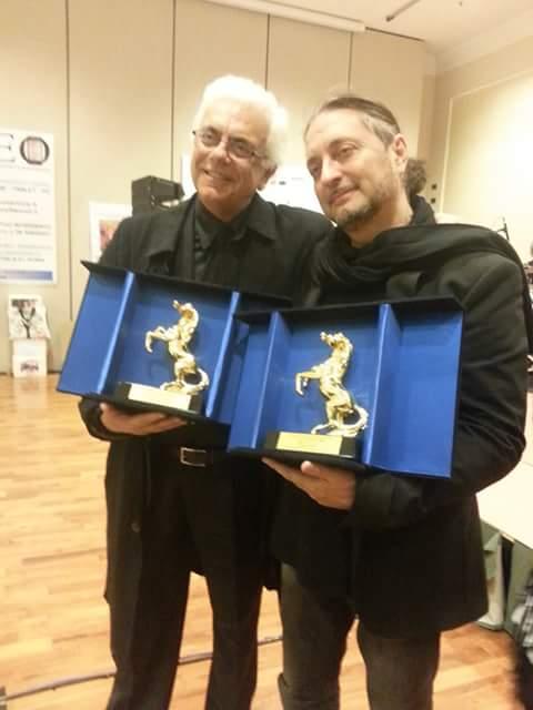 Il premio Cavallino d'oro ad Antonello Mazzeo e Alberto Laurenti